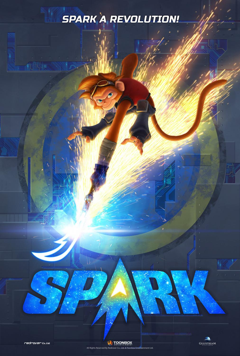 Spark a Space Tail - poster