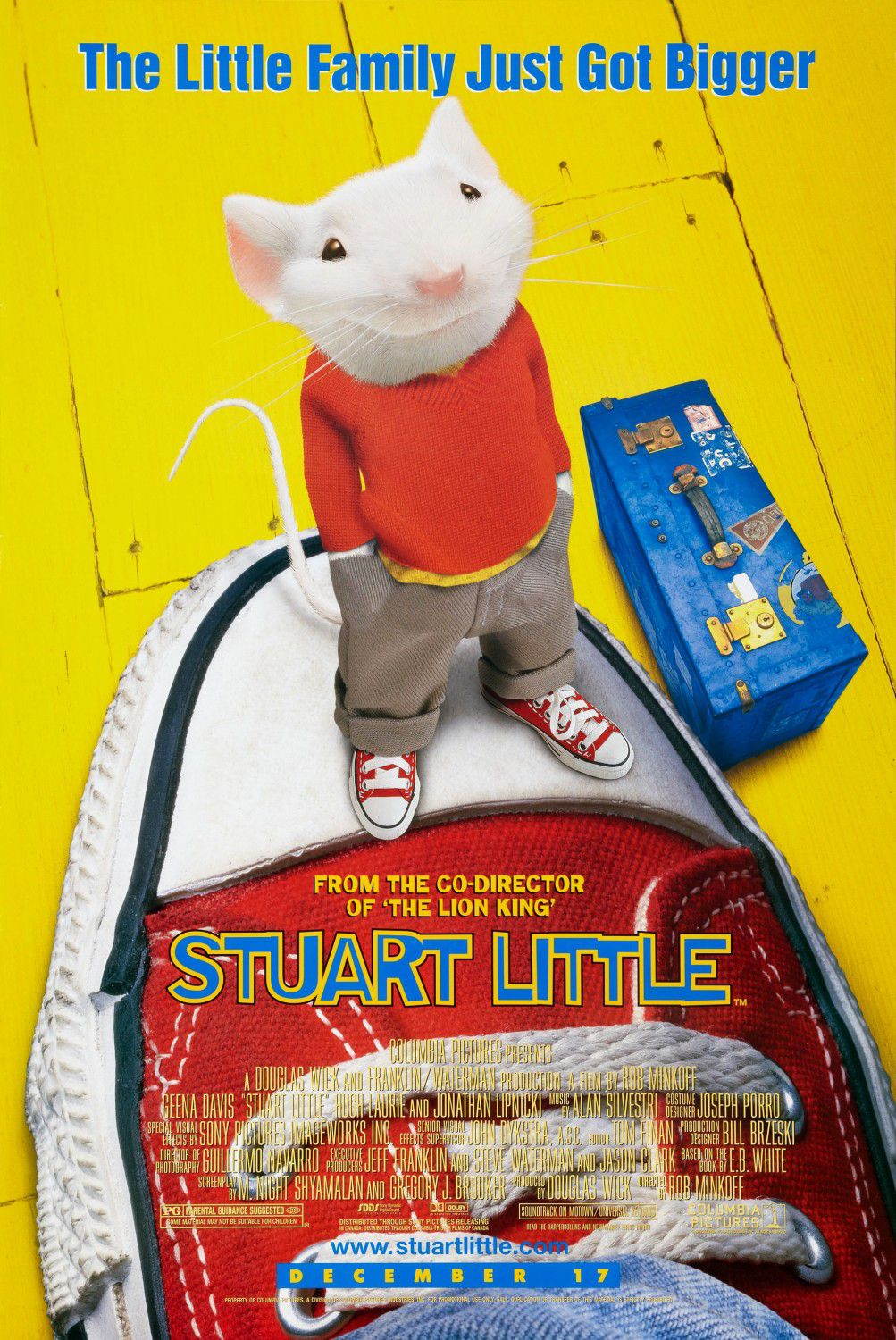 Stuart Little - mouse poster
