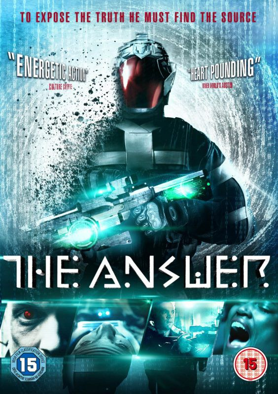 The Answer - to expose the truth he must find the source - film poster