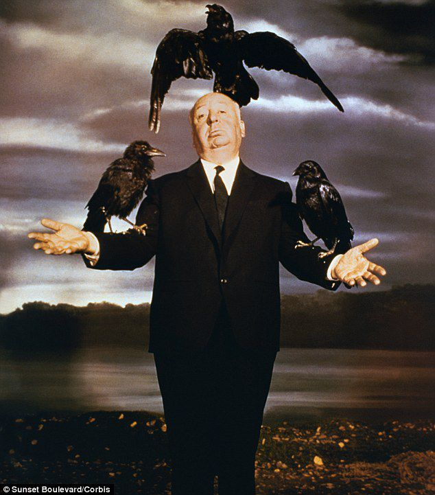 The Birds - Alfred Hitchcock 1963 - pose