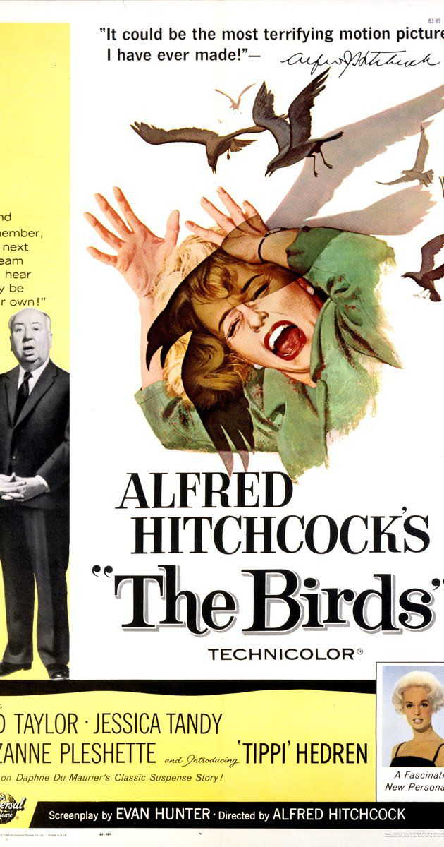 The Birds - Alfred Hitchcock 1963 - poster