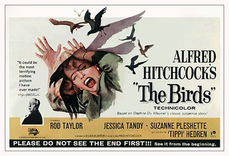 The Birds - Alfred Hitchcock 1963