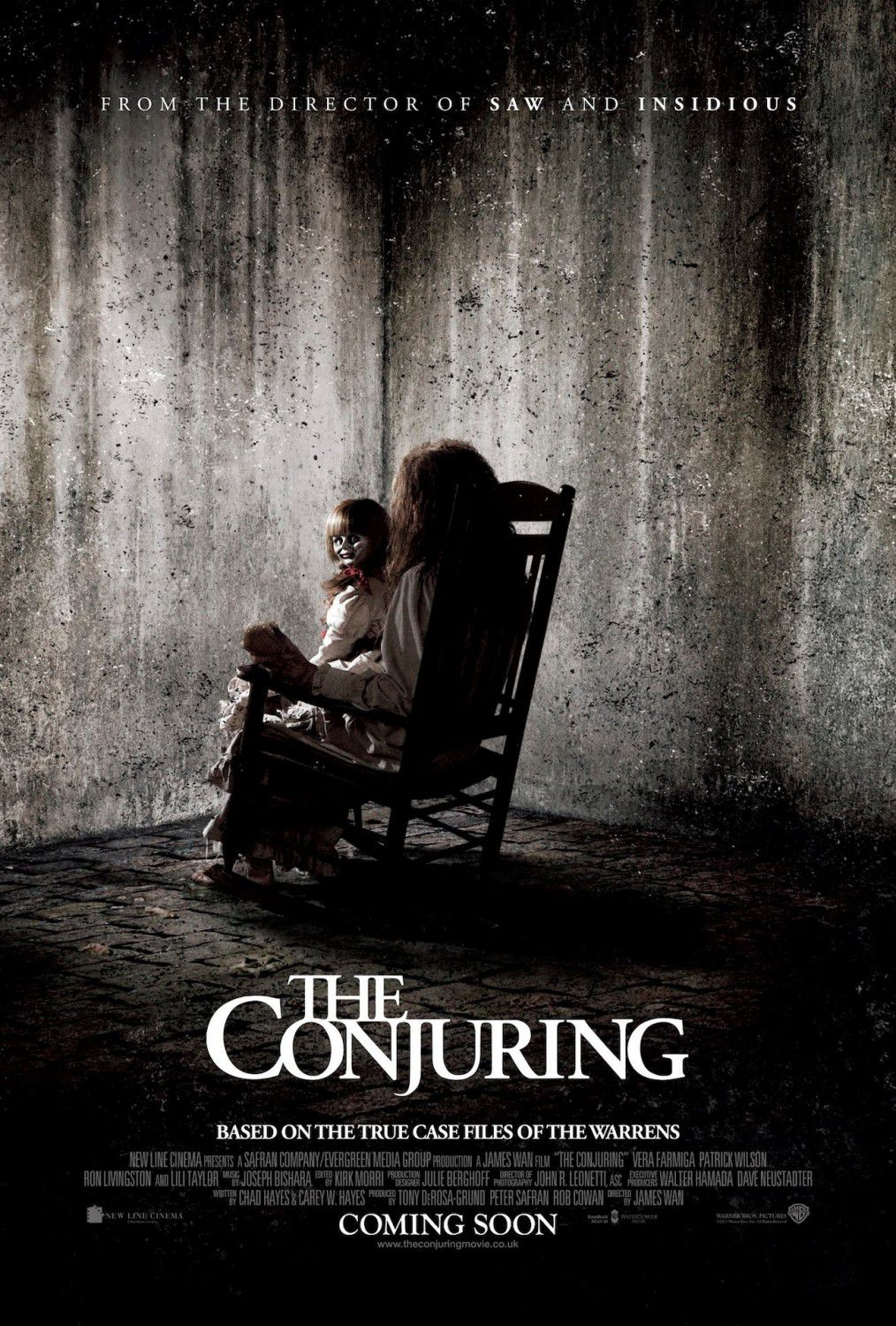 The Conjuring - horror poster