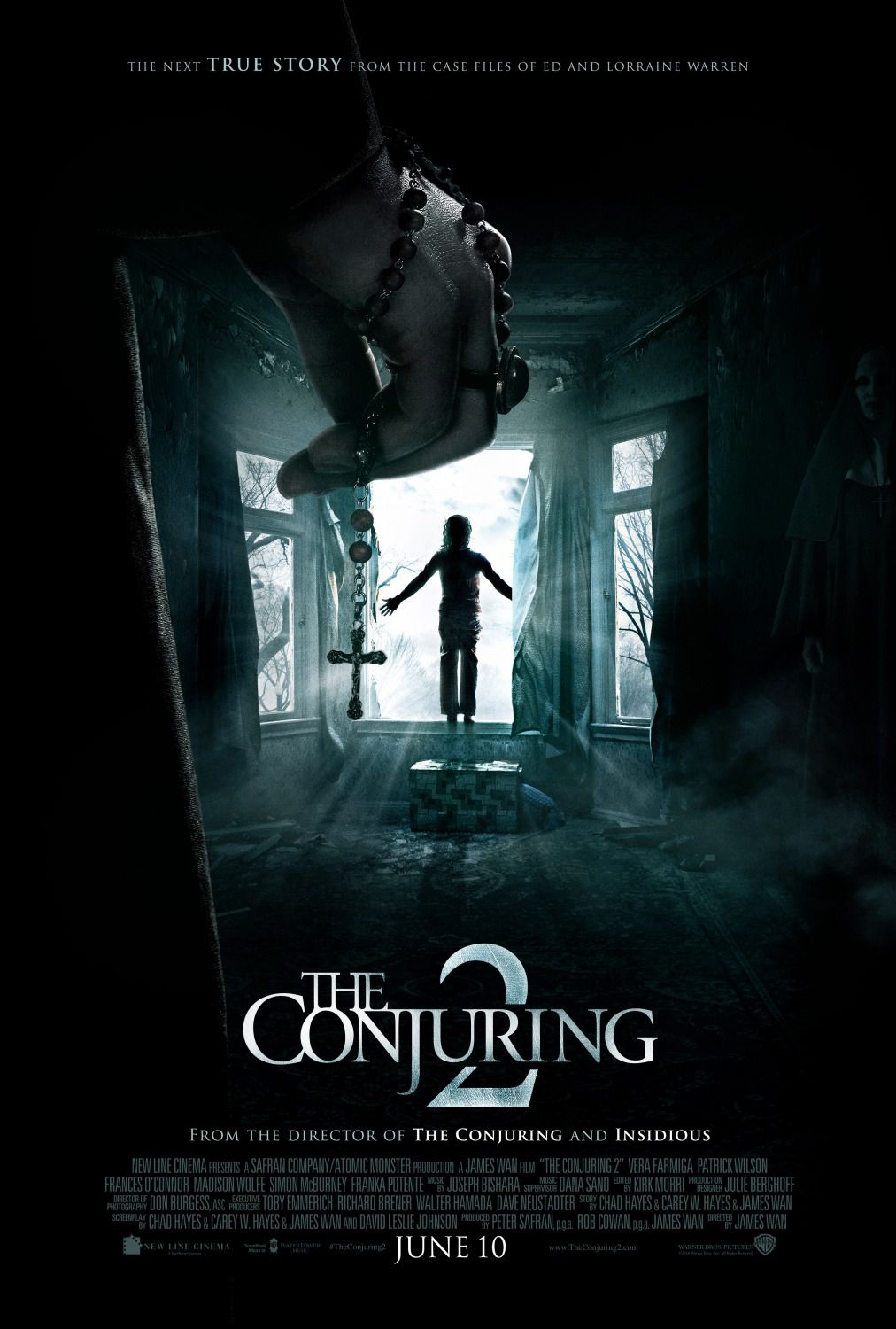The Conjuring 2 - horror poster
