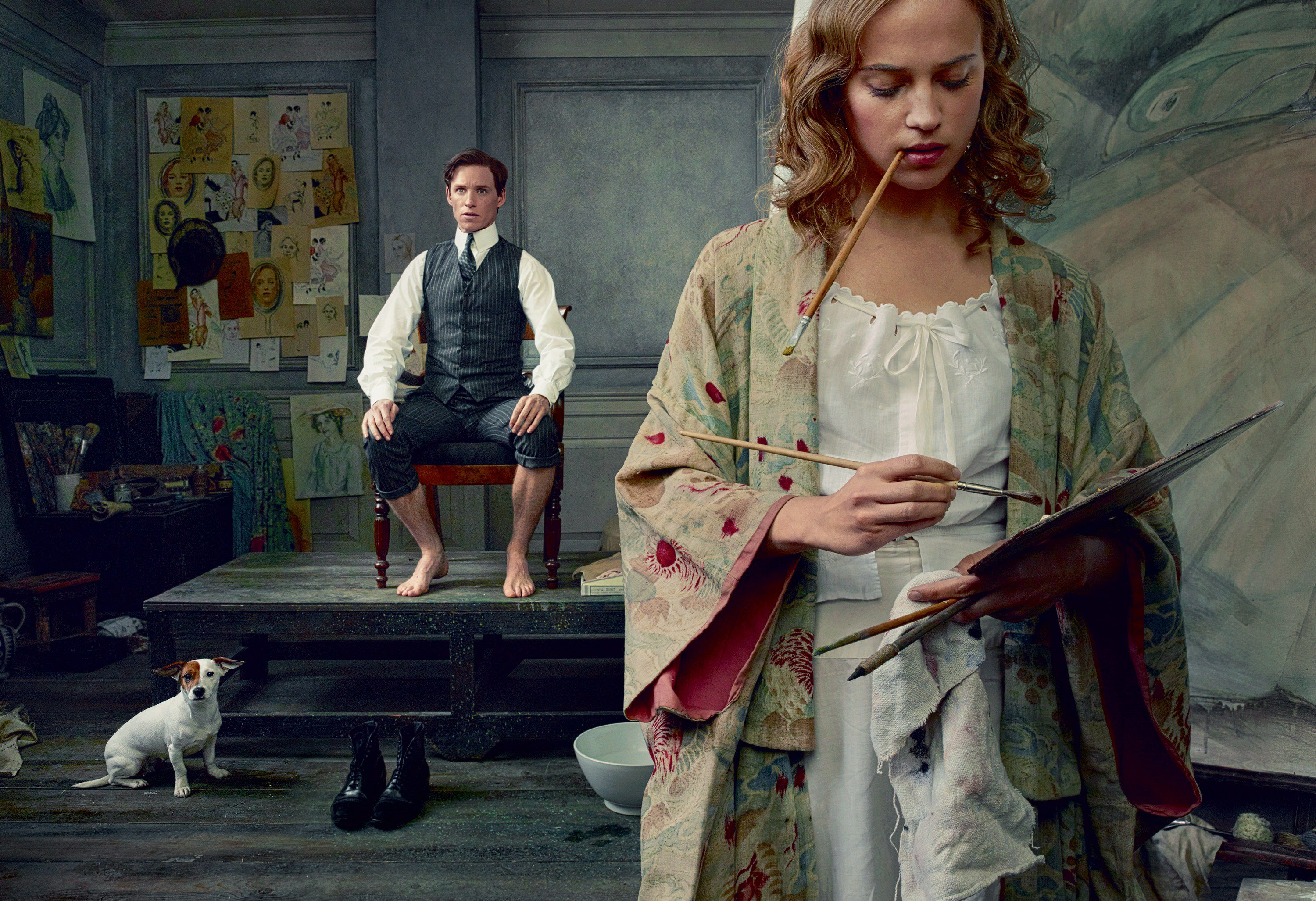 The Danish Girl - Scene Paint