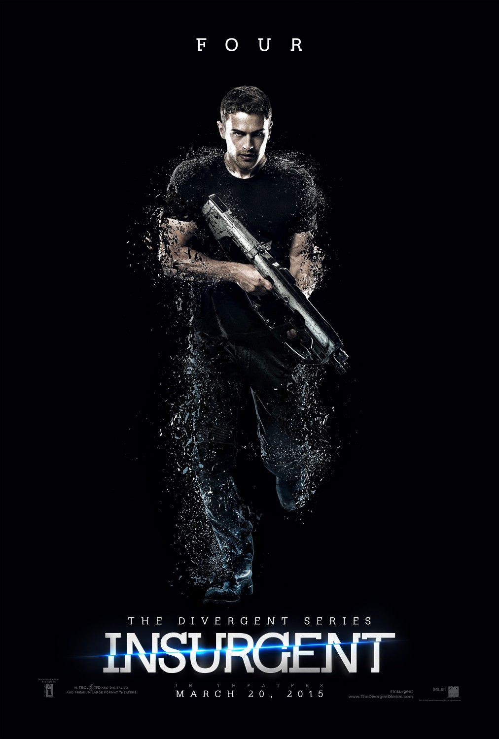 "The Divergent 2 - Insurgent - Tobias ""Quattro"" ""Four"" Eaton (Theo James)"
