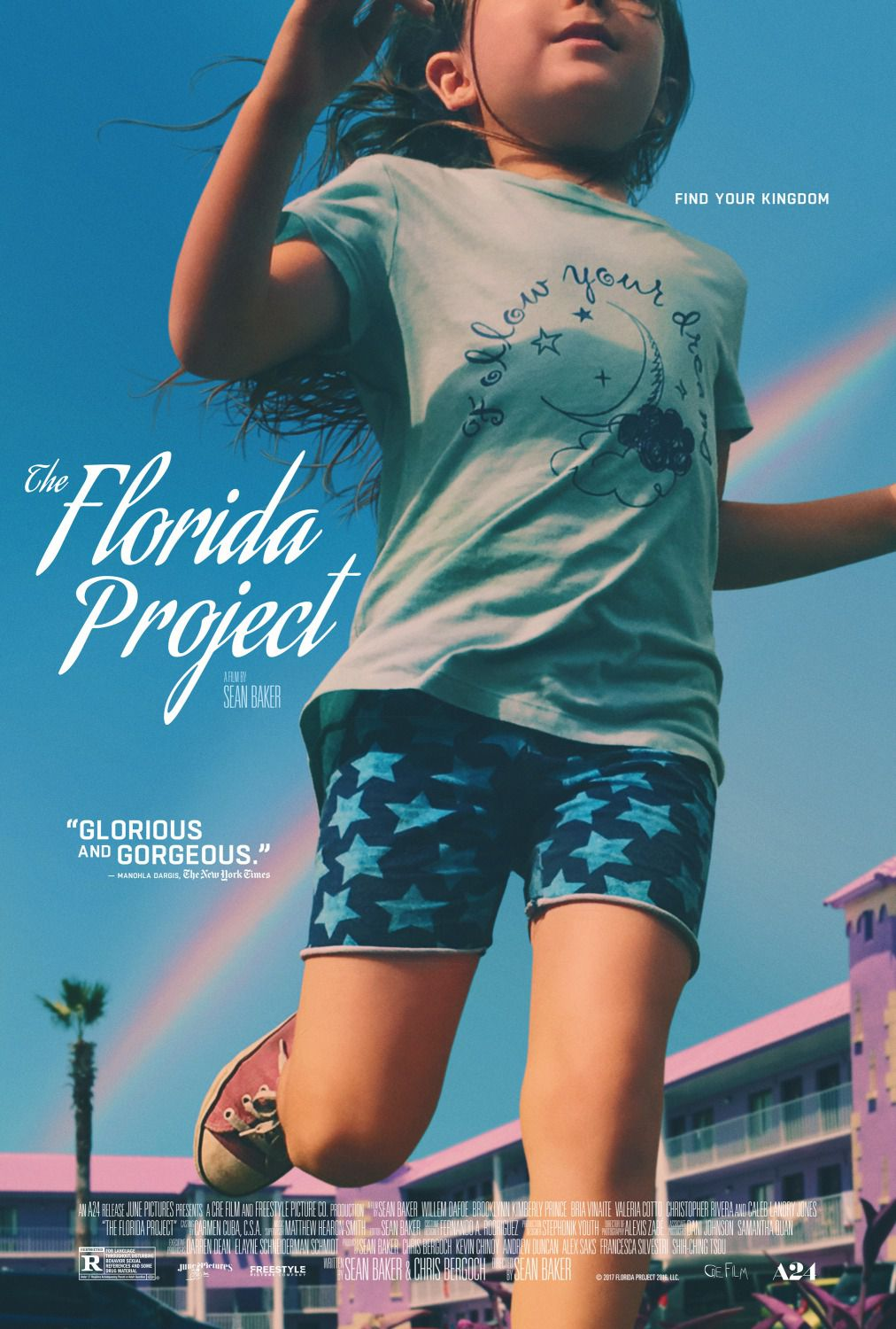 The Florida Project a film by Sean Baker with Willem Dafoe - Brooklynn Kimberly Prince - Bria Vinaite - Valeria Cotto - Christopher Rivera - Caleb Landry Jones