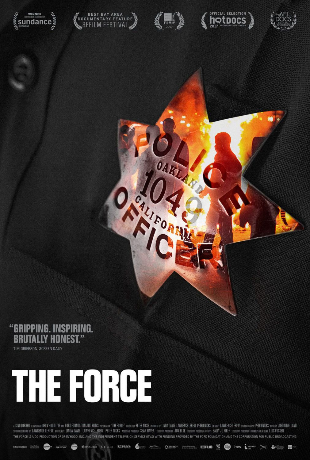 The Force - film police poster