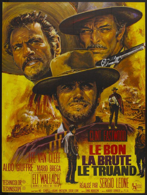 The Good the Bad and the Ugly - il Buono il Brutto e il Cattivo - Le Bon la Brute e le Truand