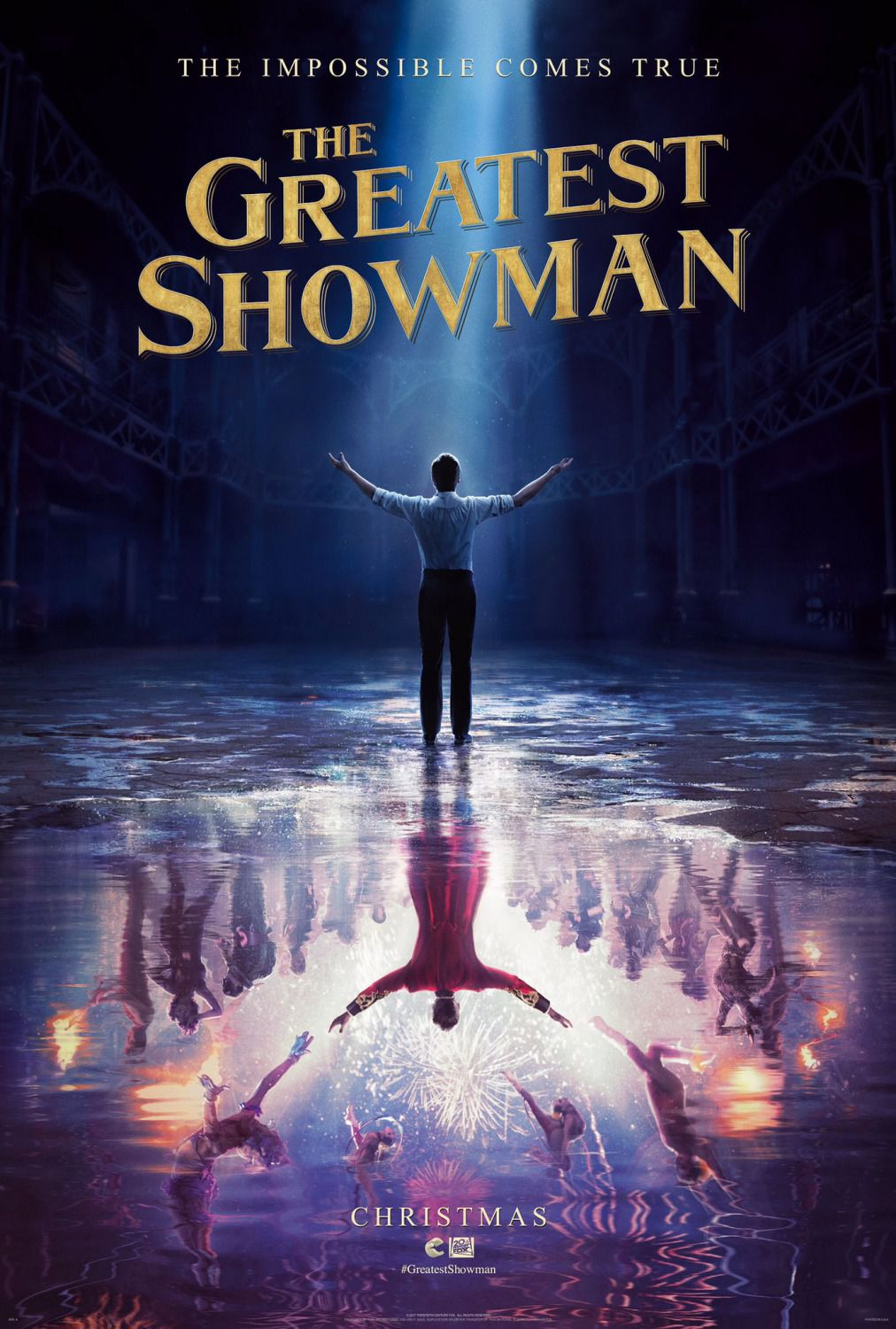 The Greatest Showman - film poster - Hugh Jackman - Michelle Williams - Rebecca Ferguson - Zac Efron - film poster