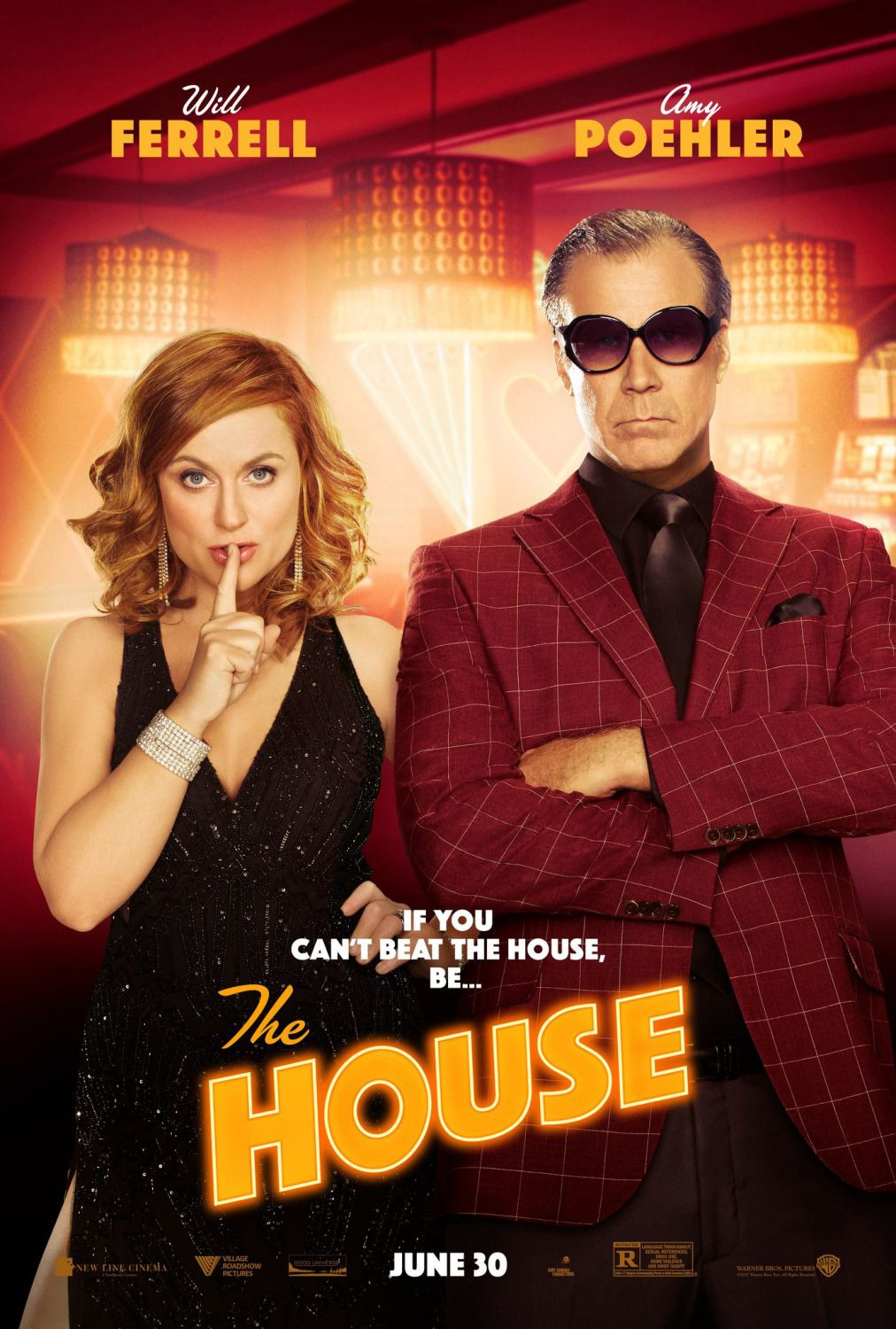 The House - film comedy poster - Will Ferrell - Amy Poehler