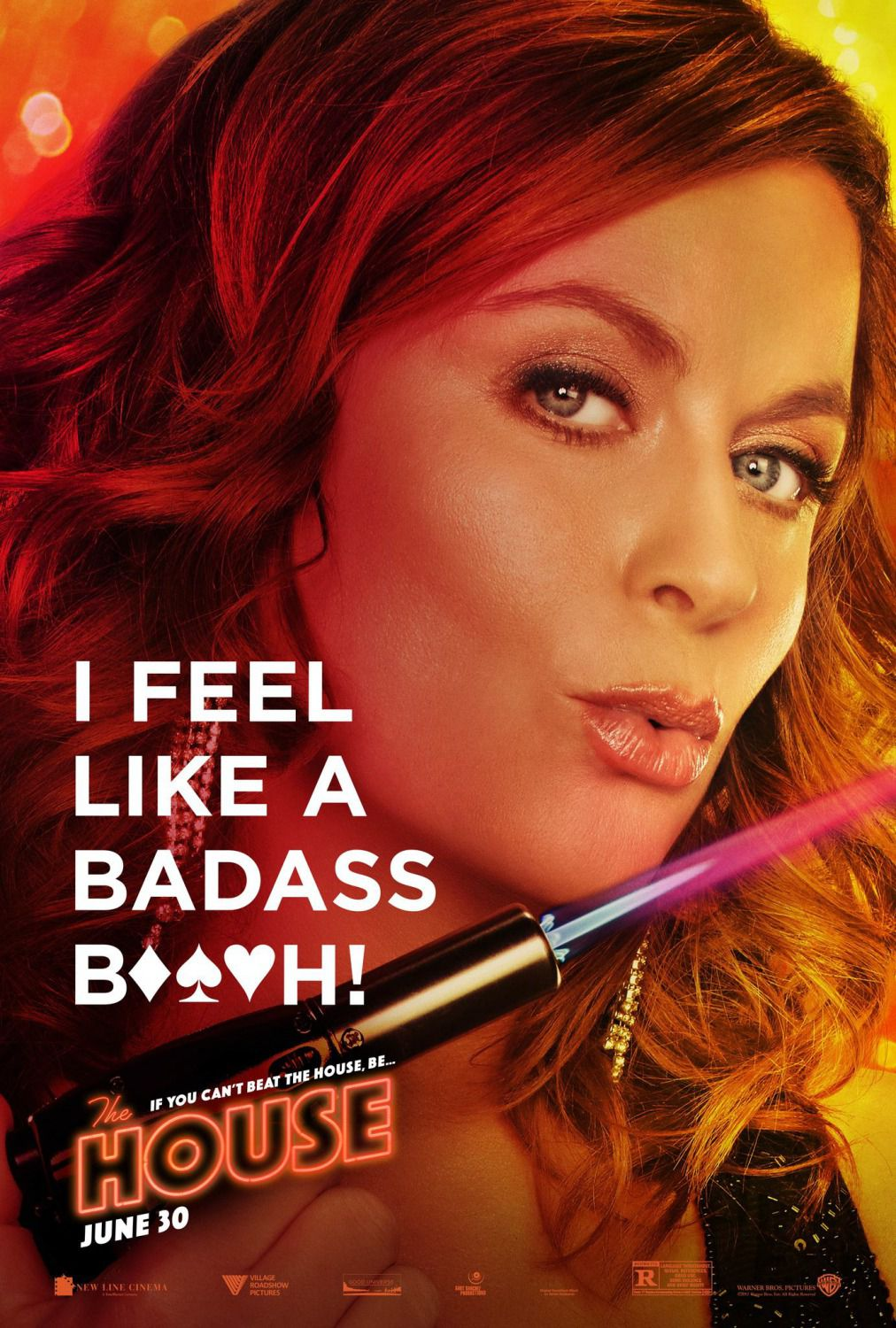 The House - film comedy poster - Amy Poehler - I feel like a Badass beach