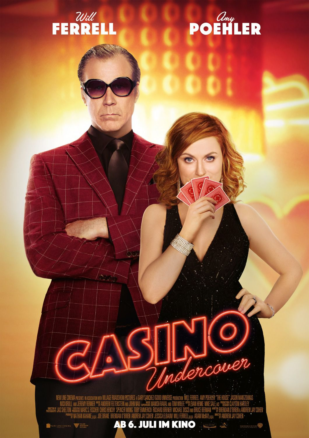 The House - Casinò - film comedy poster - Will Ferrell - Amy Poehler