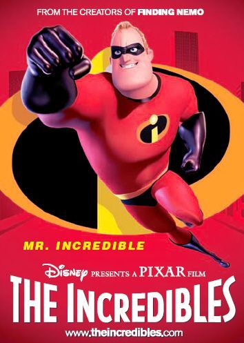 The Incredibles - Mr. Incredibles