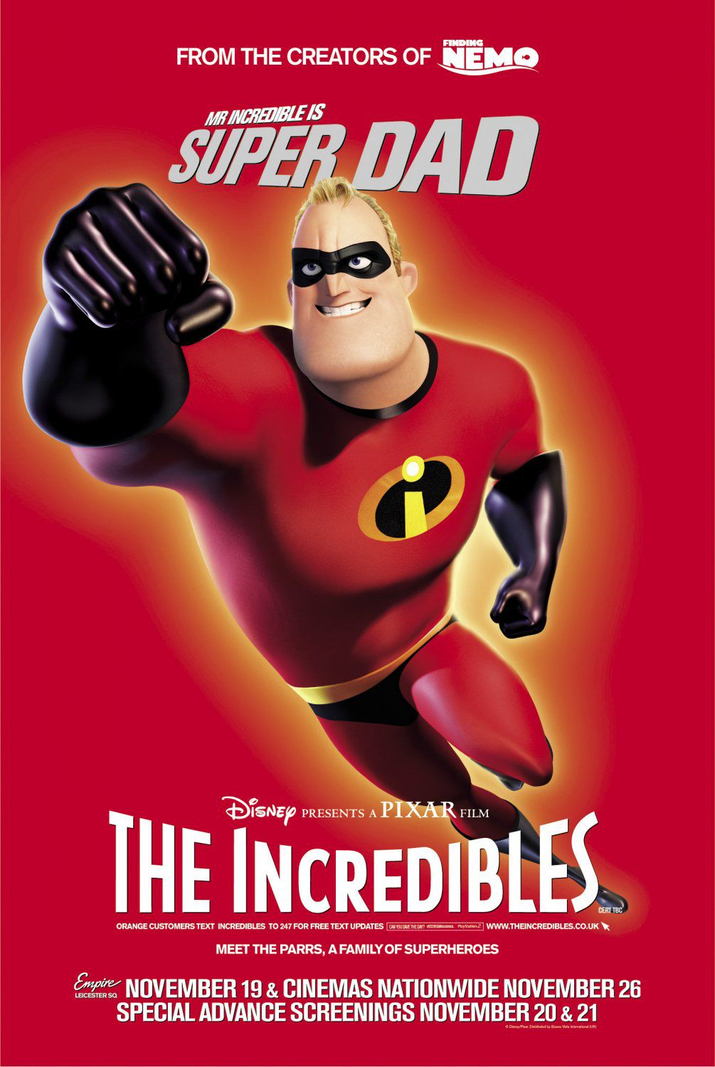 Mr. Incredible - super dad