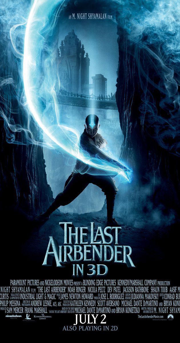 The Last Airbender - L'Ultimo Dominatore dell'Aria - poster
