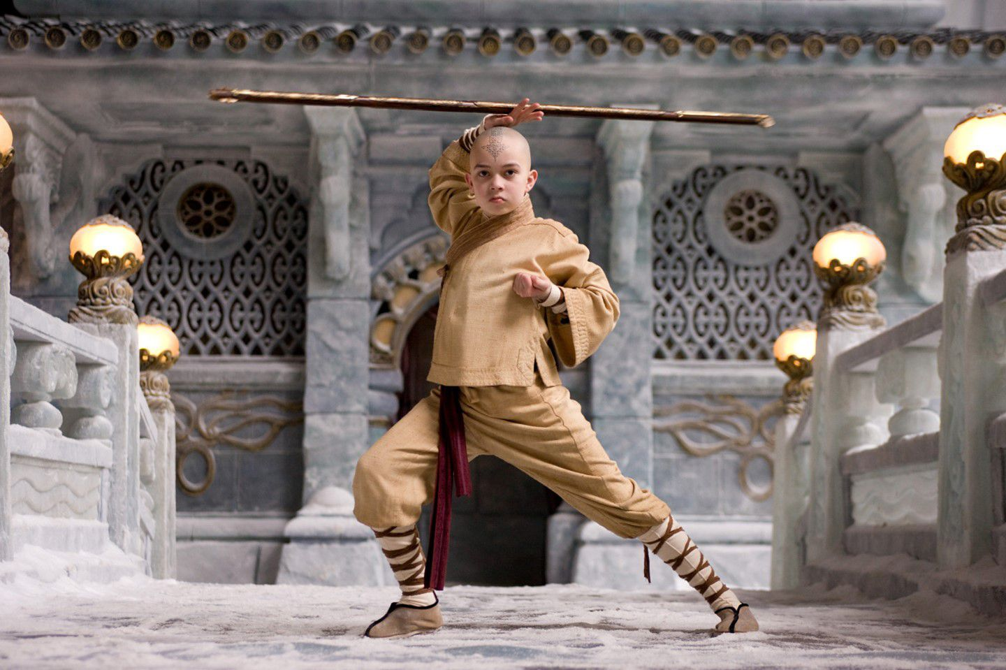 The Last Airbender - L'Ultimo Dominatore dell'Aria - fight - allenamento