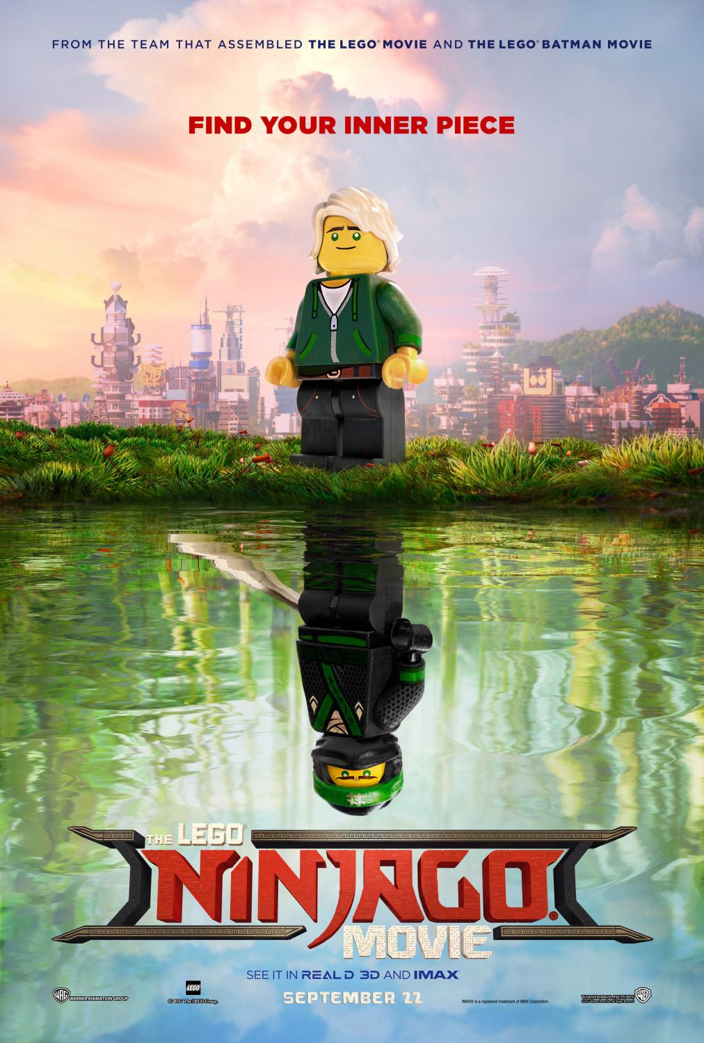 The Lego Ninjago Movie - poster - good and evil