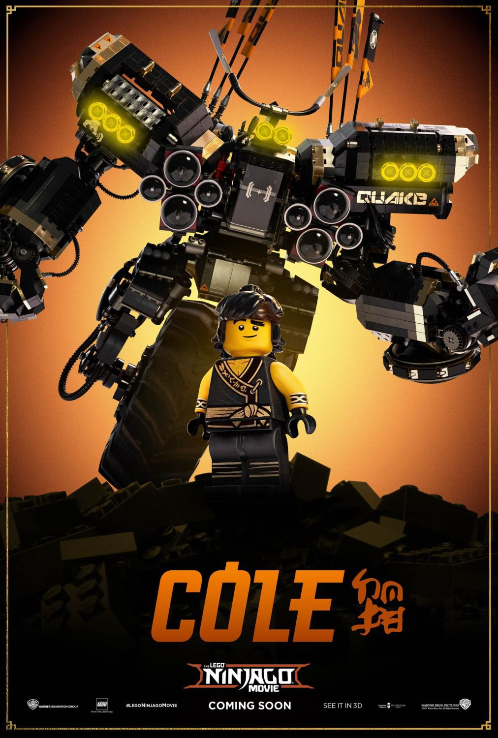 The Lego Ninjago Movie - Cole