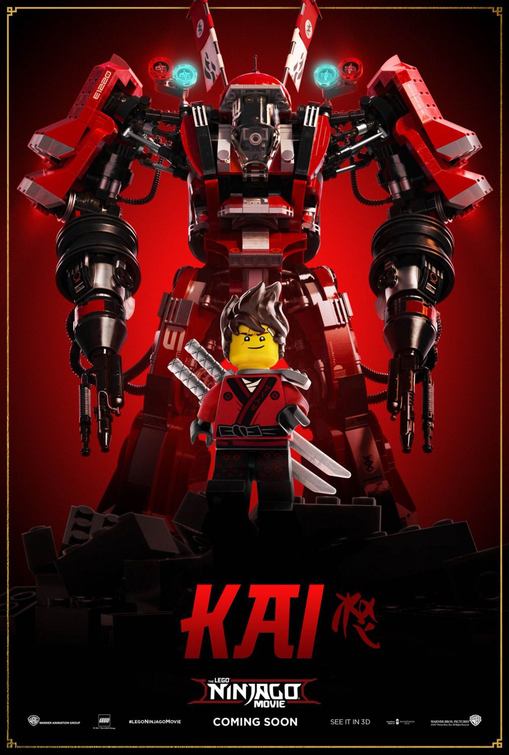 The Lego Ninjago Movie - Kai