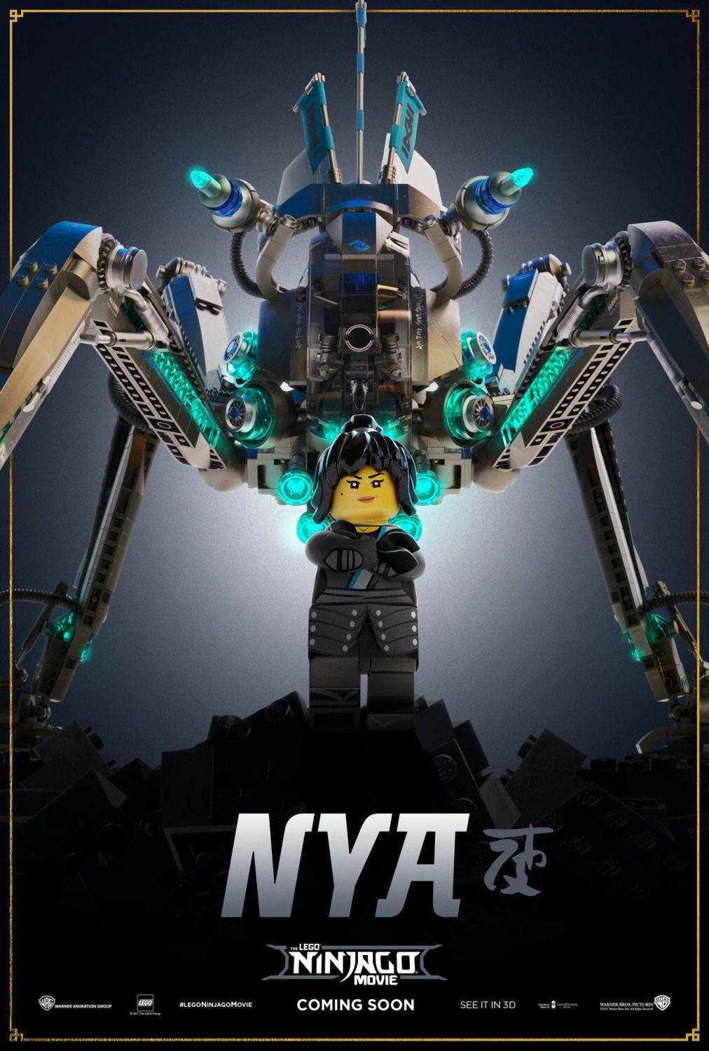 The Lego Ninjago Movie - Nya