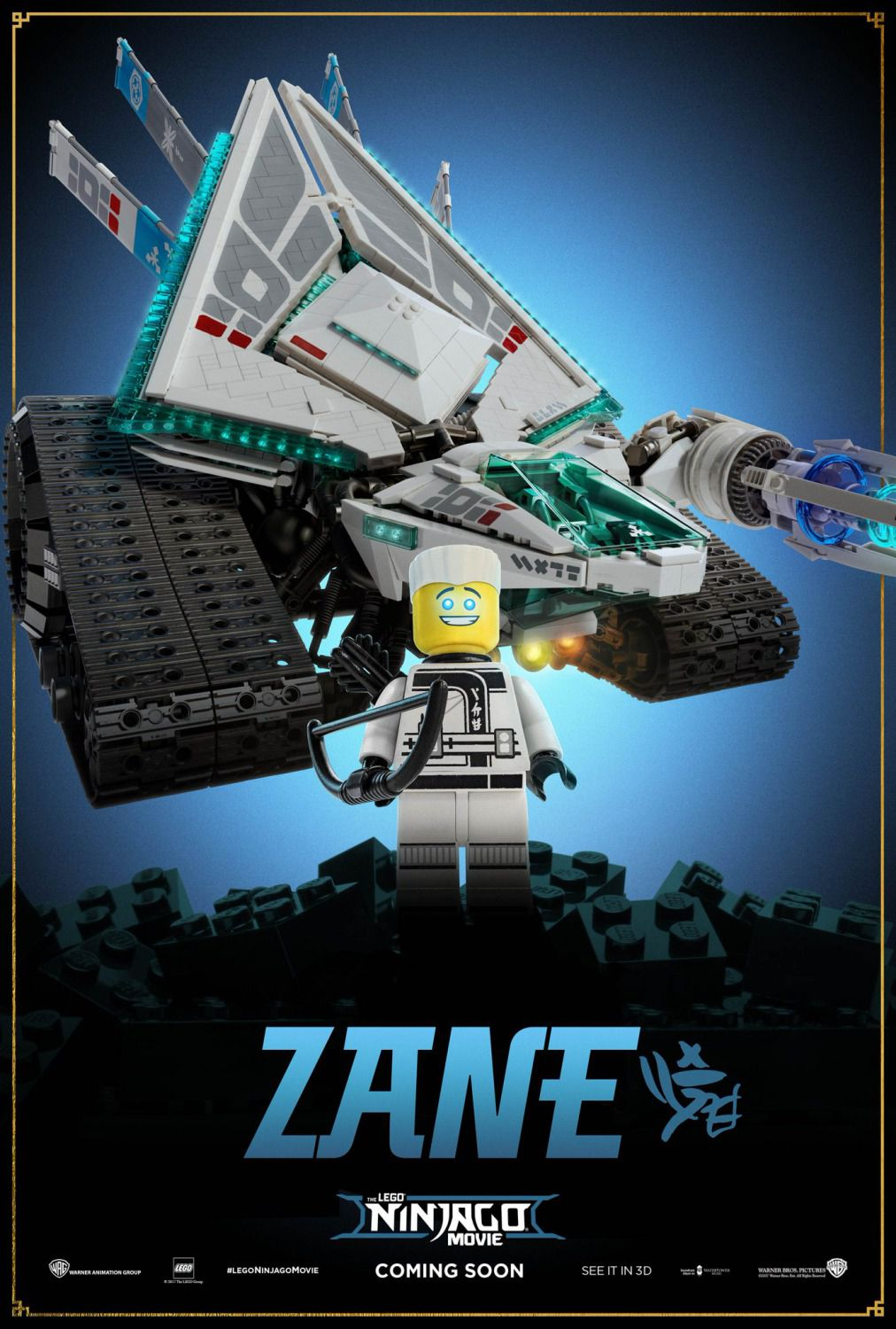 The Lego Ninjago Movie - Zane