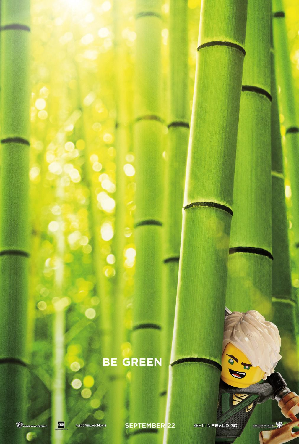 The Lego Ninjago Movie be green