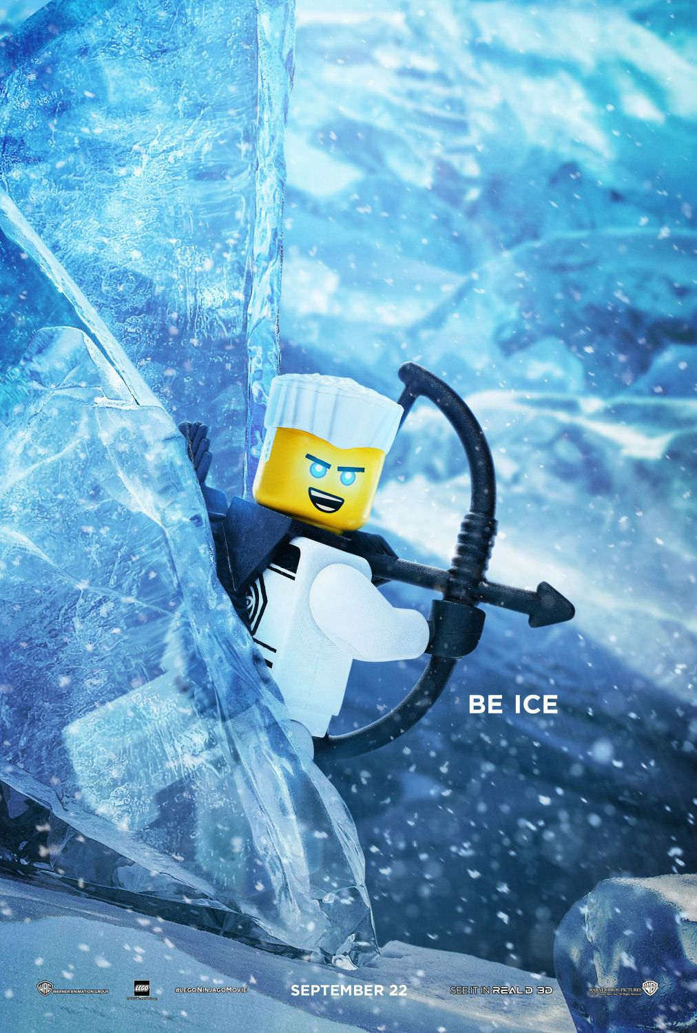The Lego Ninjago Movie be ice