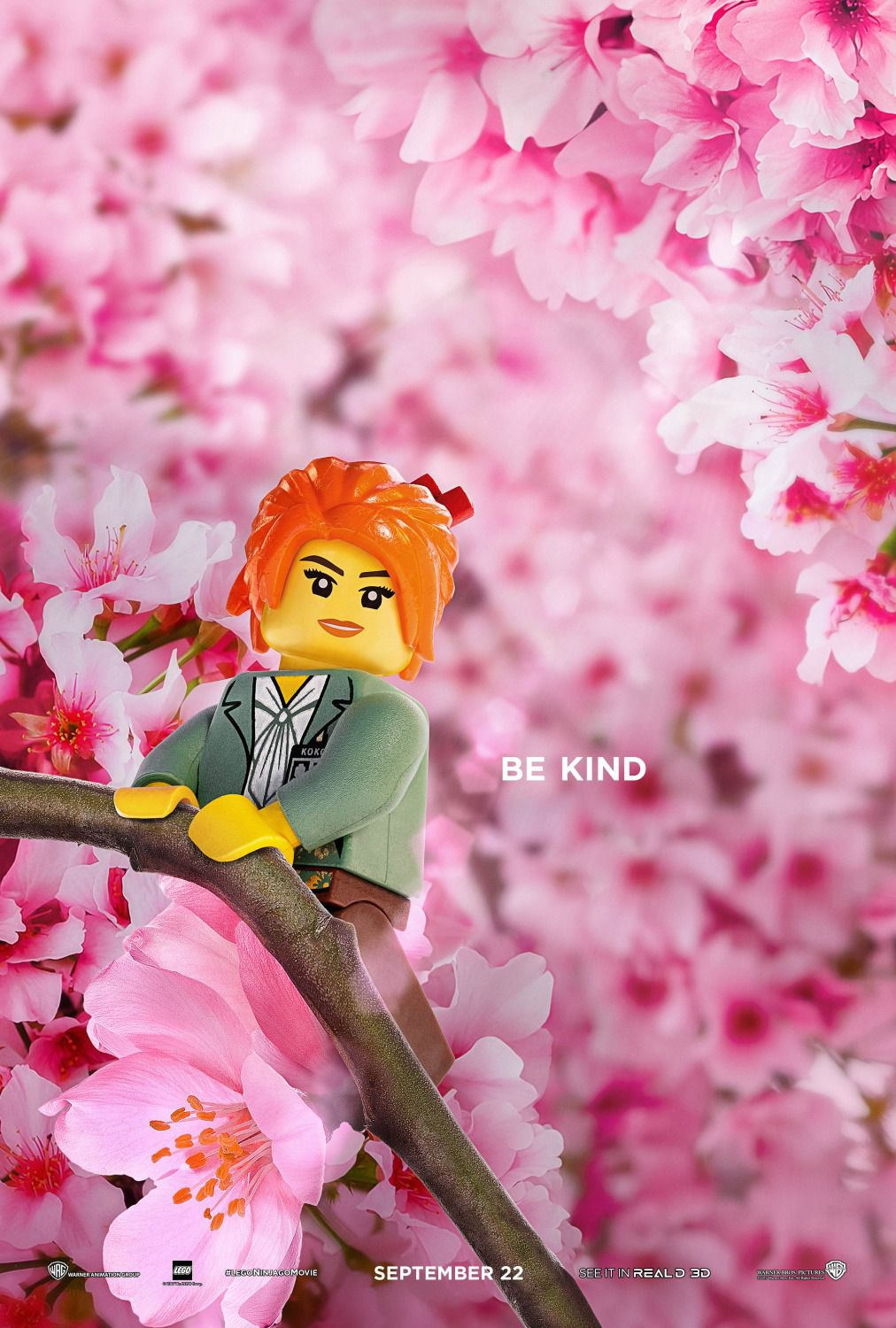 The Lego Ninjago Movie be kind