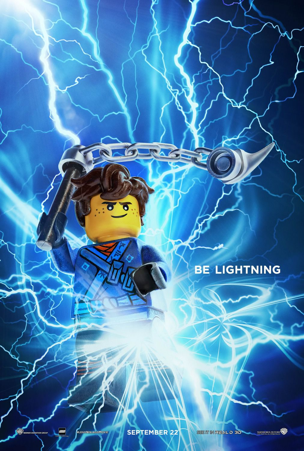 The Lego Ninjago Movie be lightning