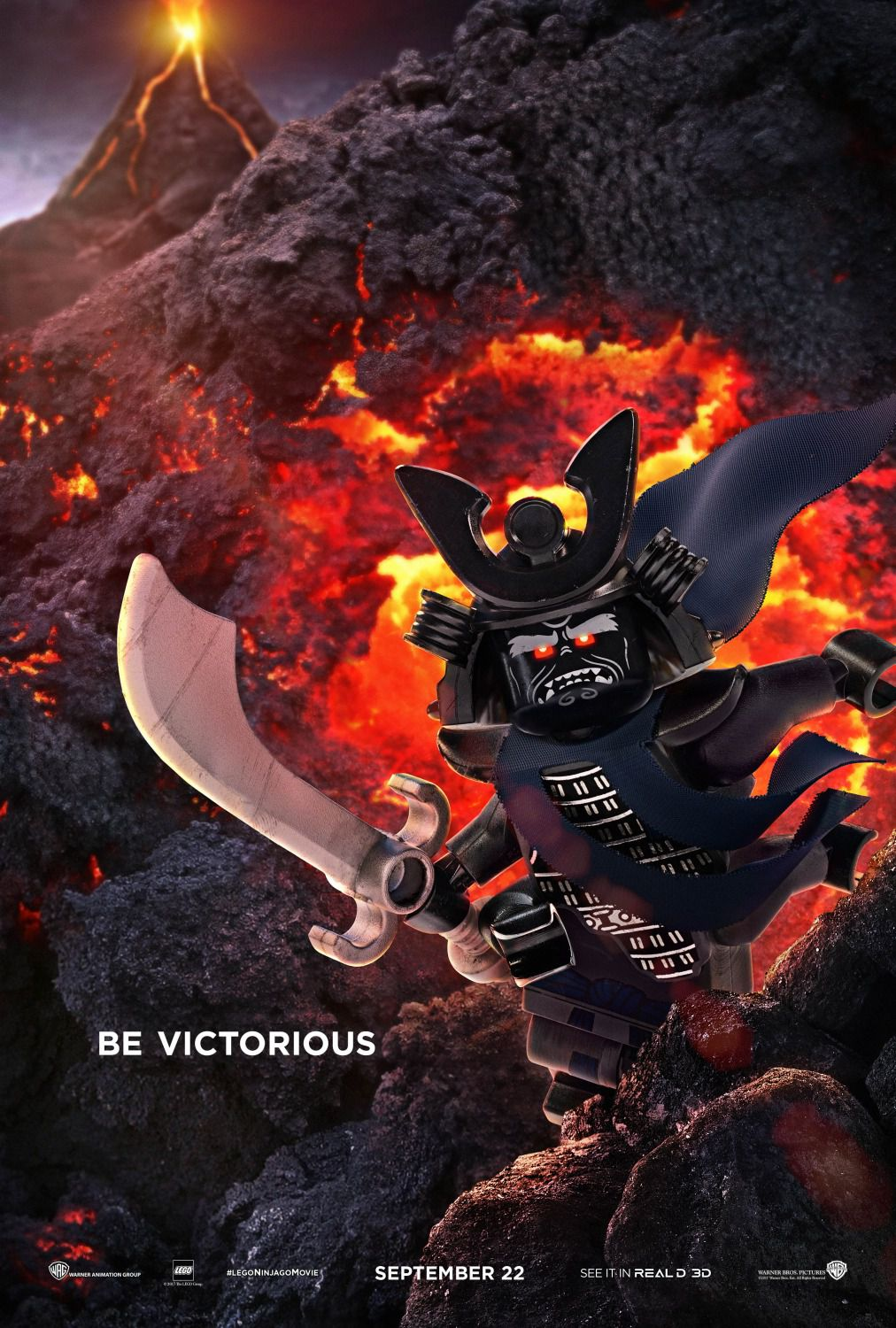 The Lego Ninjago Movie be victorious