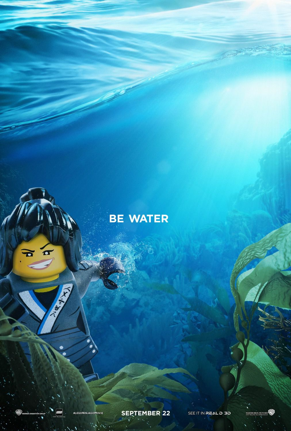 The Lego Ninjago Movie be water
