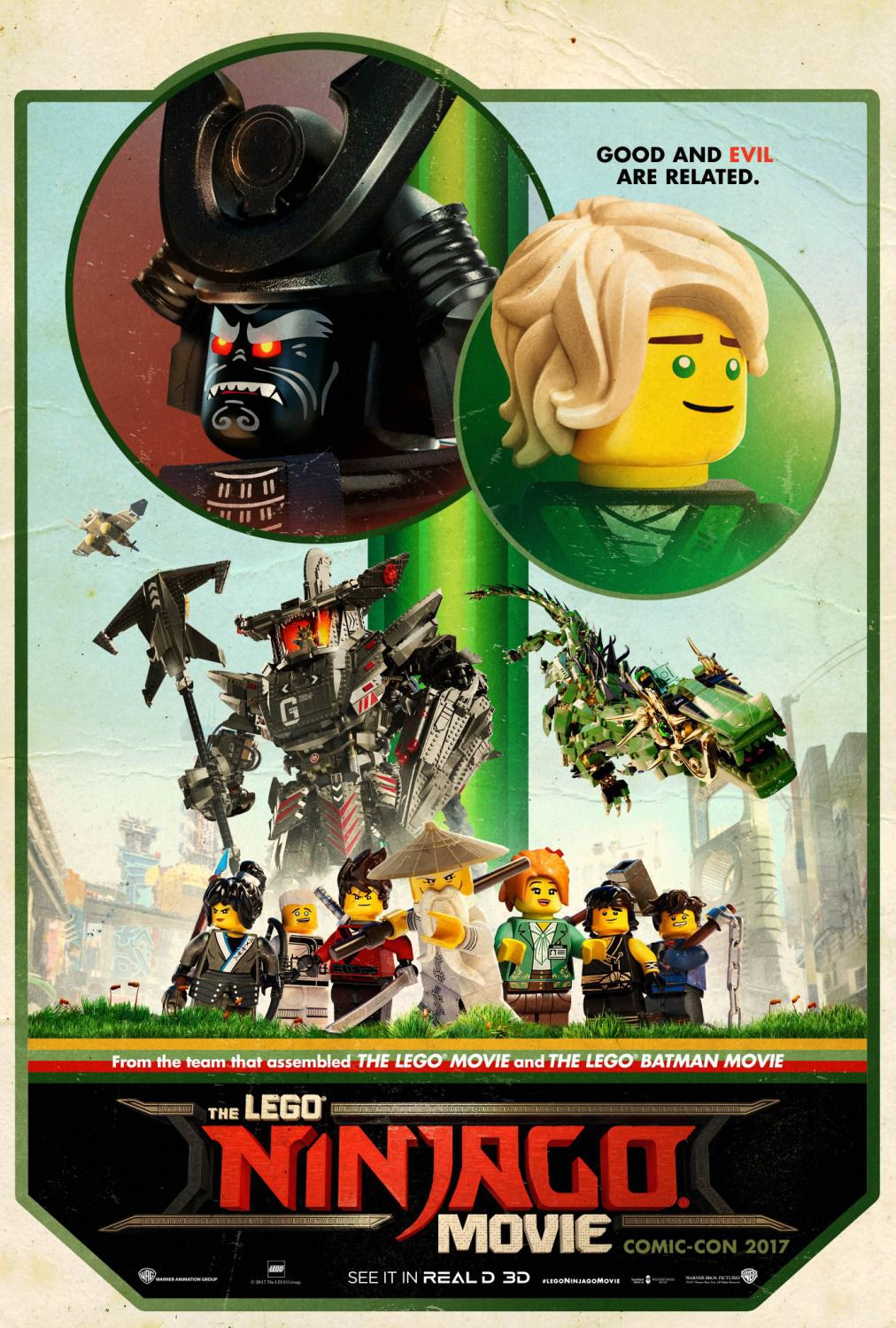 The Lego Ninjago Movie - poster