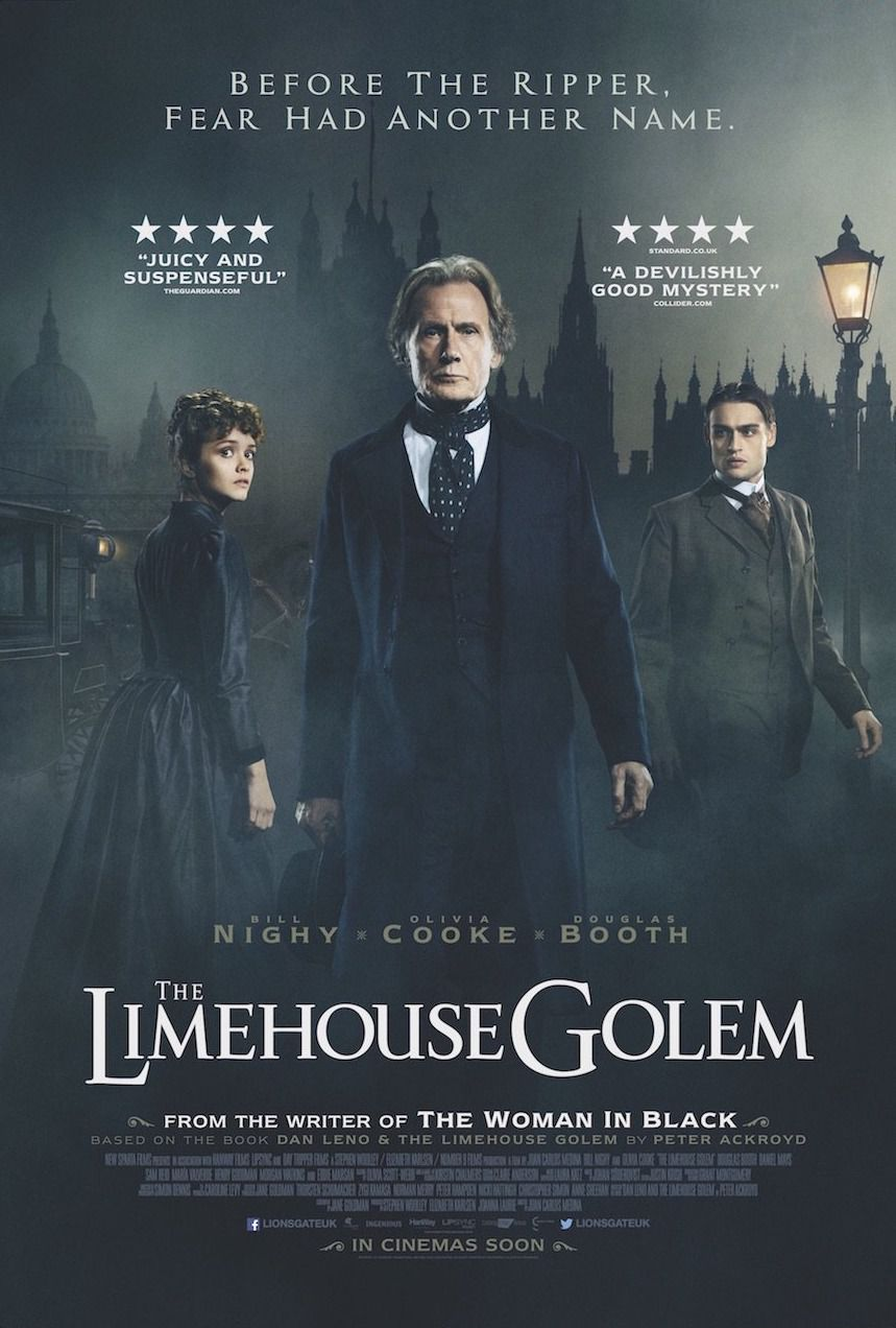 The Limehouse Golem - Before the Ripper fear had another name - Bill Nighy - Olivia Cooke - Dougles Booth
