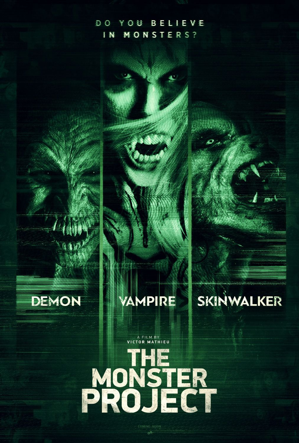 The Monster Project - movie horror poster