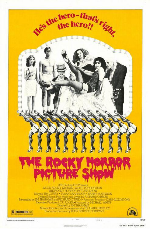 Rocky Horror Picture Show - musical - poster