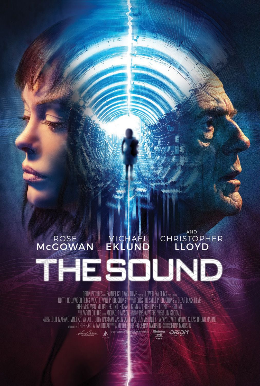 The Sound - film poster - Rose McGowan - Christopher Lloyd - Michael Eklund - Richard Gunn - film poster