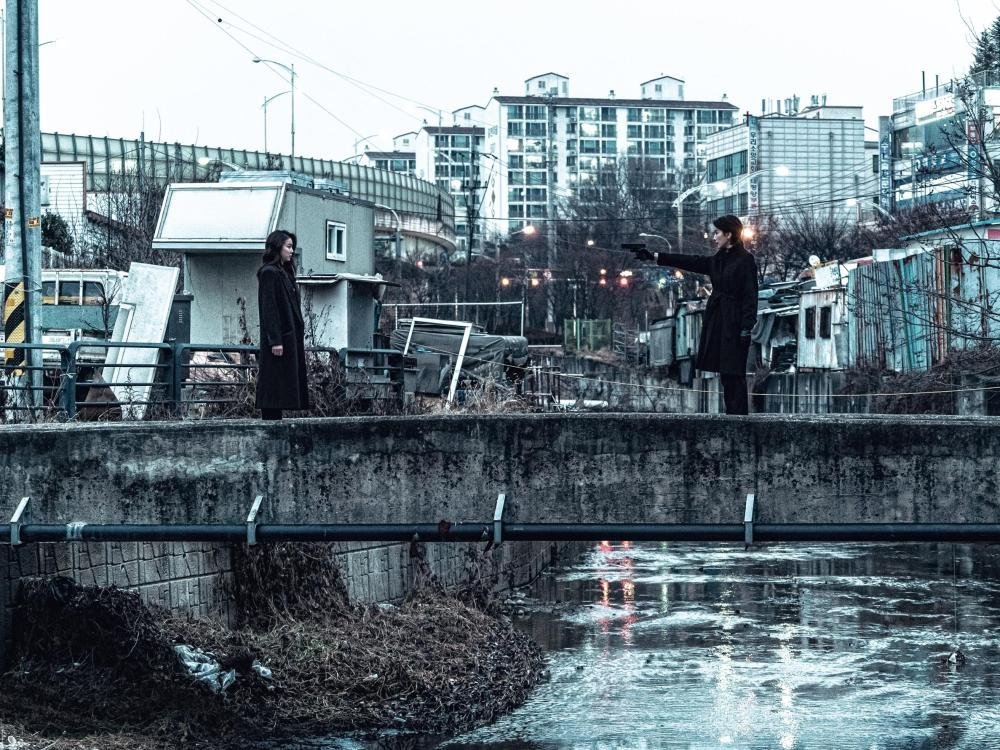 The Villainess - scene  bridge