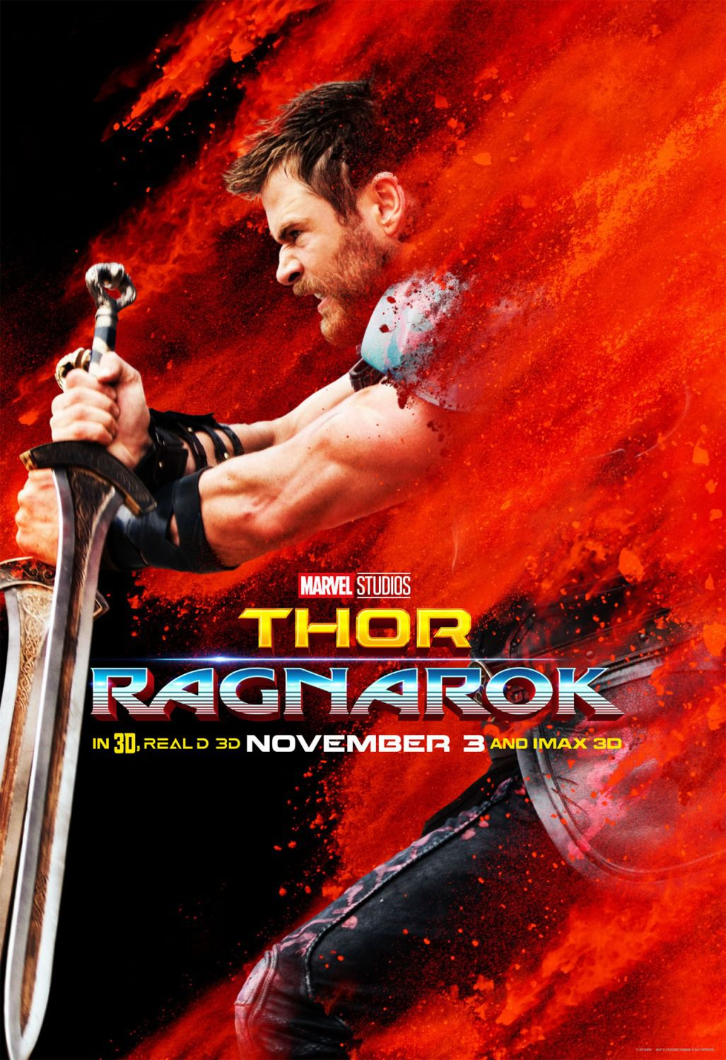 Thor Ragnarok - poster Chris Hemsworth - Thor