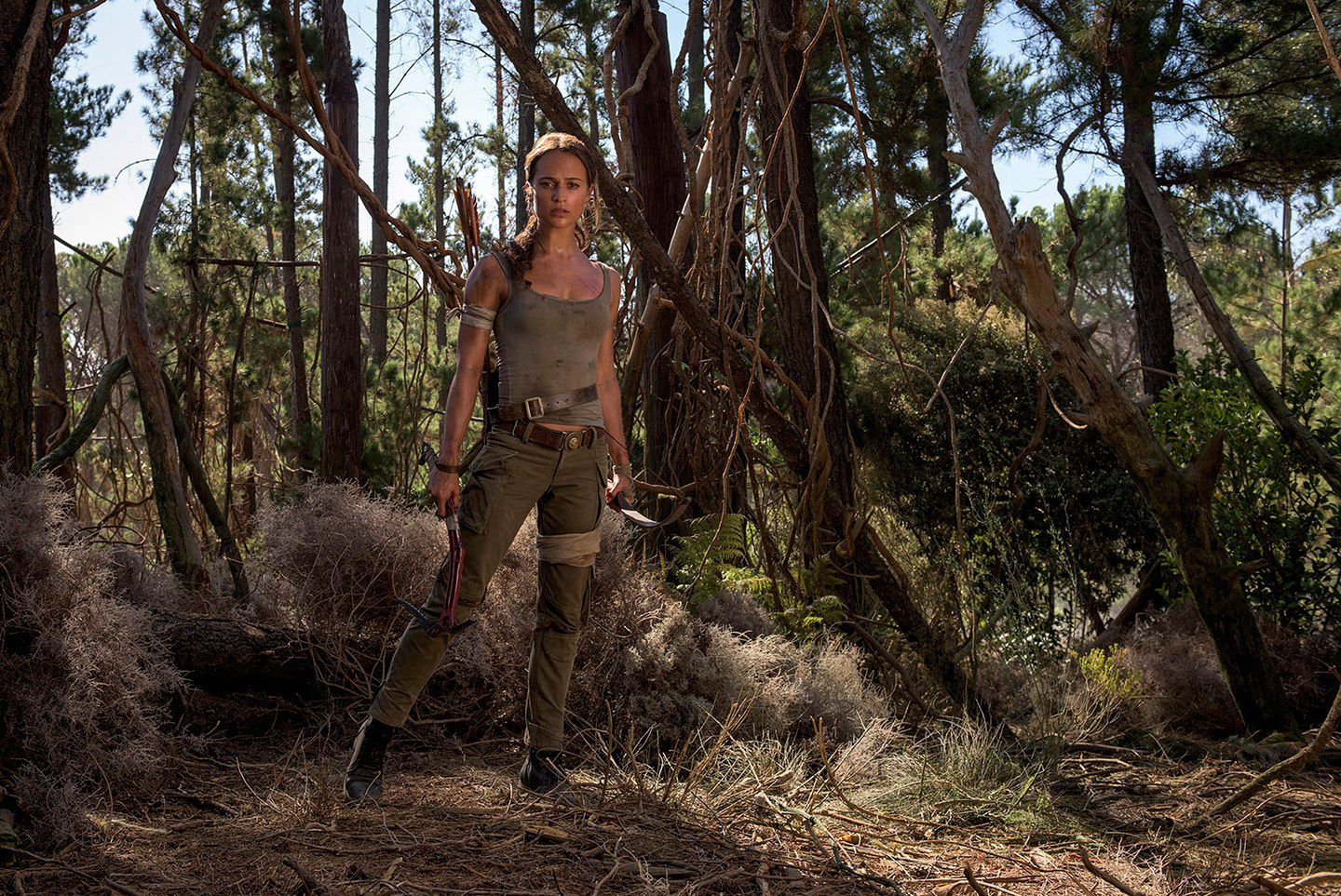 Tomb Raider 2018 - Alicia Vikander is Lara Croft - film scene