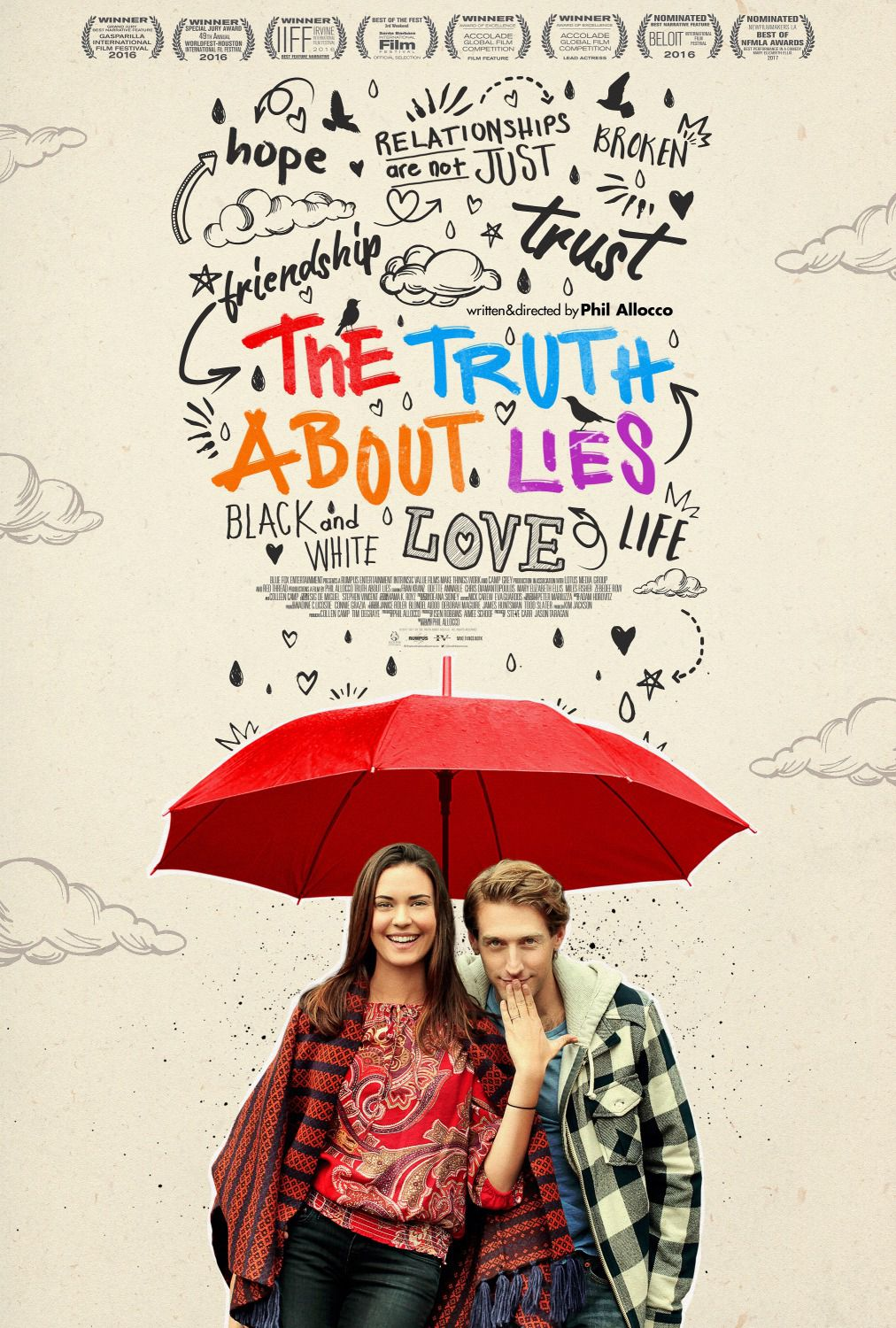 Truth about Lies - Fran Kranz - Odette Annable - Colleen Camp - Mary Elizabeth Ellis - film poster