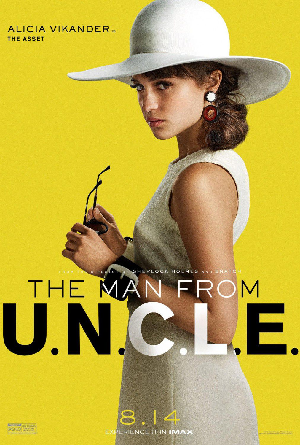 U.N.C.L.E. - Man from UNCLE -  Alicia Vikander