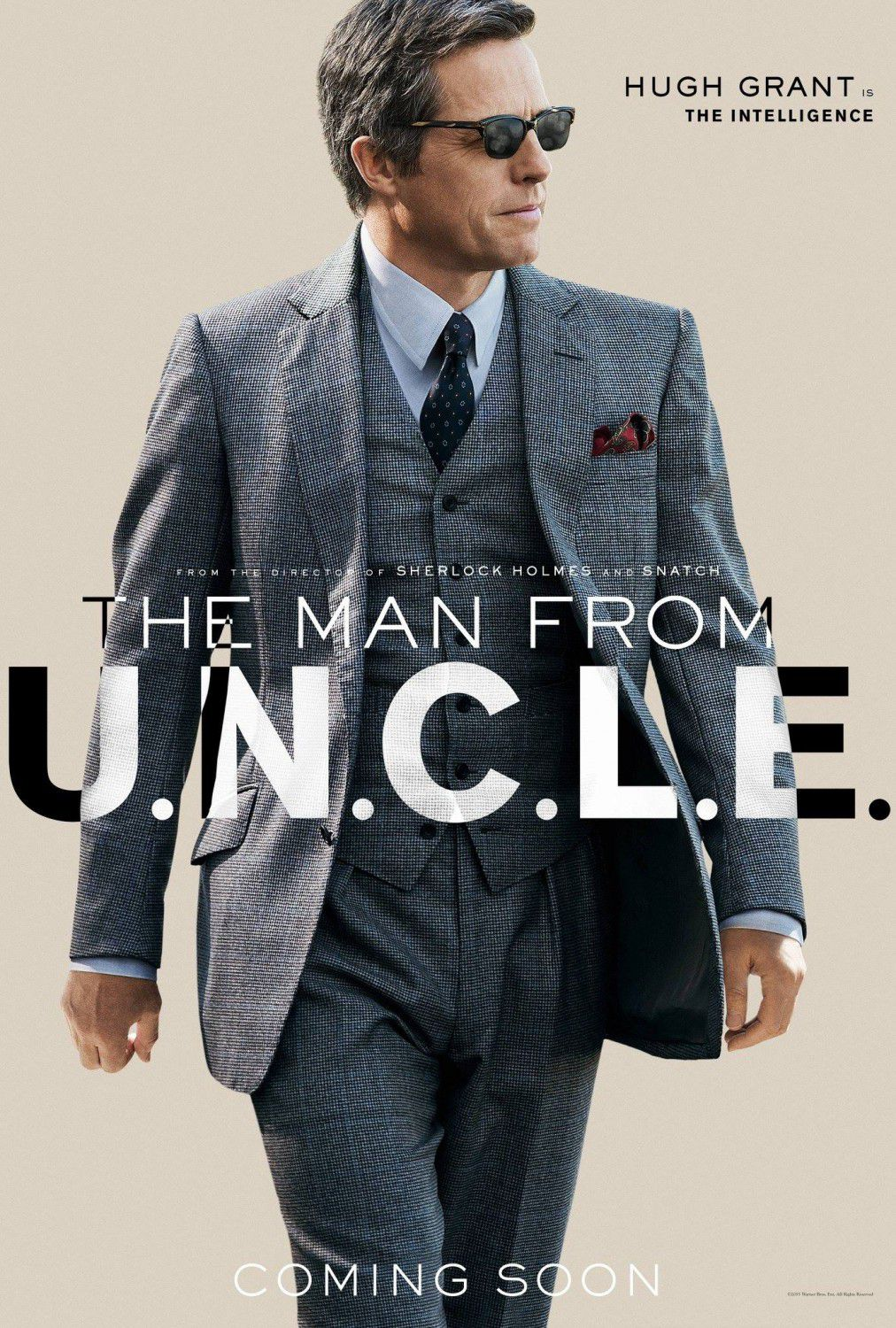 U.N.C.L.E. - Man from UNCLE -  Hugh Grant
