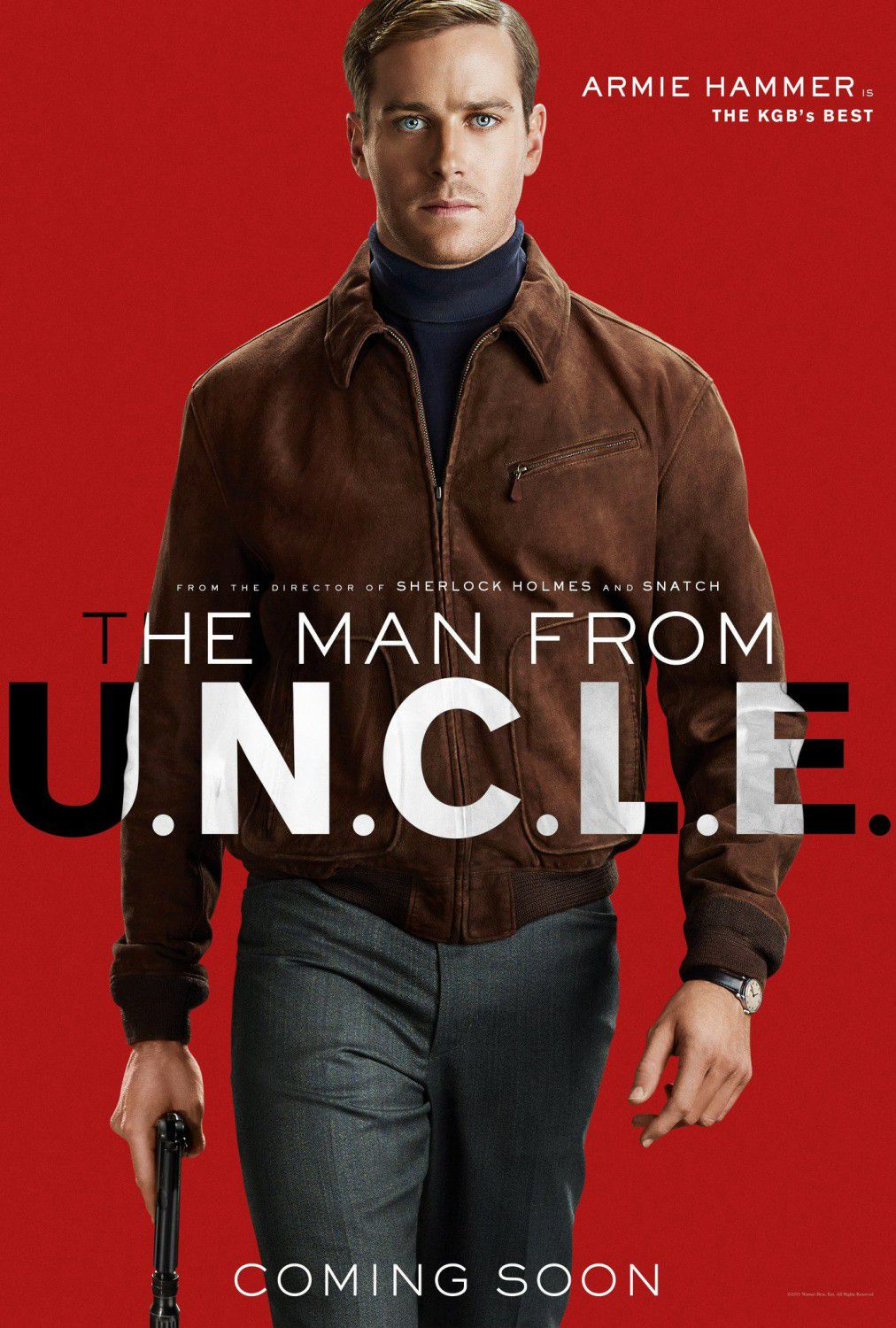 U.N.C.L.E. - Man from UNCLE - Armie Hammer