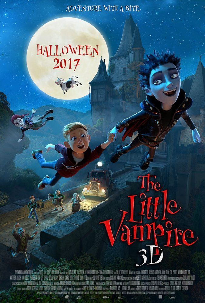 Vampiretto - The Little Vampire - cartoon film poster
