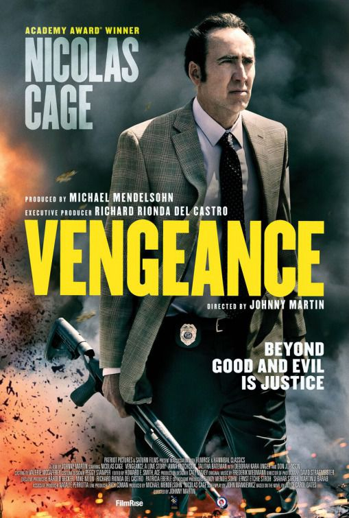 Vengeance a love story with Nicolas Cage