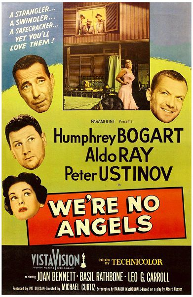 We're no Angels - Non siamo Angeli - 1955 - Humphrey Bogart