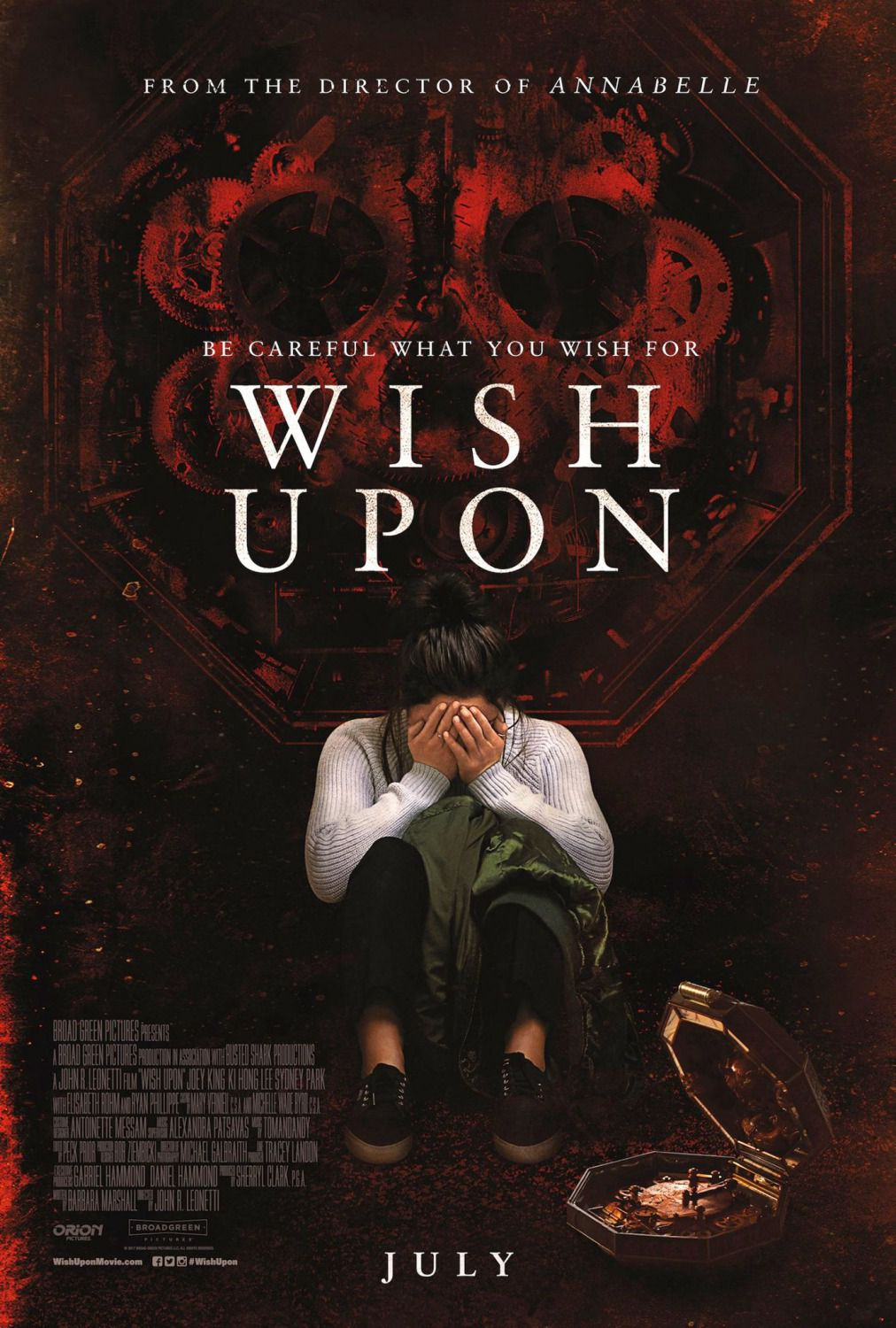 film poster - Wish Upon ... be careful what you wish for