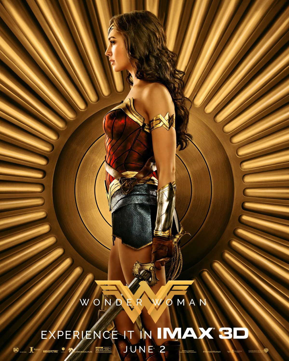 Wonder Woman 2017 - poster - Gal Gadot