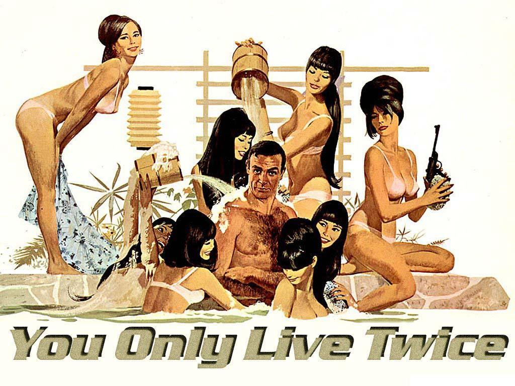 1967 - 007 Si vive solo due volte - You only live twice - Sean Connery as James Bond